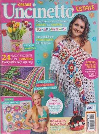 Creare Uncinetto Split estate - n. 80 - mensile - 2 riviste