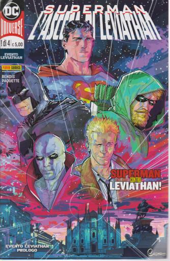Dc Crossover - n. 1 - Superman l'ascesa di Leviathan - mensile - 18 giugno 2020