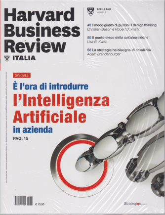 Harward Business Review - n. 4 - aprile 2019 - mensile + The italian banking conference 2018 - 2 riviste