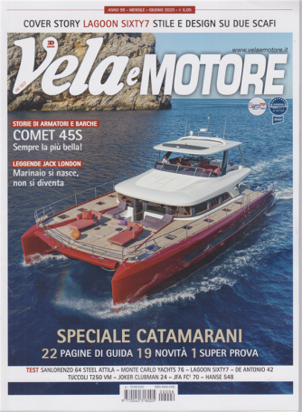 Vela e Motore - n. 6 - mensile - giugno 2020