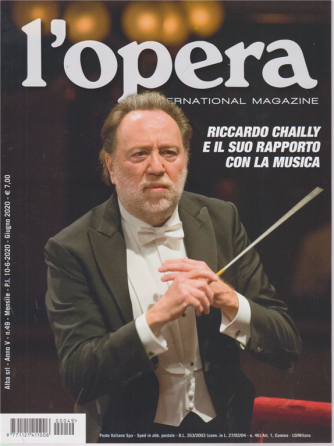 L'opera  international magazine - n. 49 - mensile - 10/6/2020 -