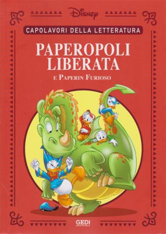 Capolavori della lettaratura - Paperopoli liberata e Paperin Furioso - n. 15 - 20/6/2020 - settimanale -