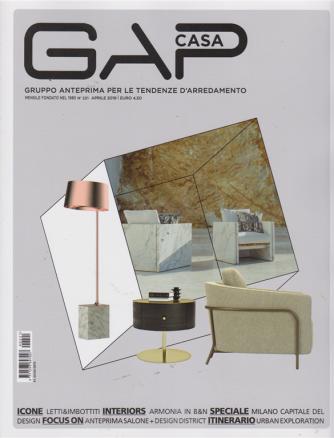 Gap Casa - n. 221 - mensile - aprile 2019 -