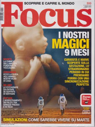 Focus + Focus Storia - n. 333 - luglio 2020 - mensile - 2 riviste