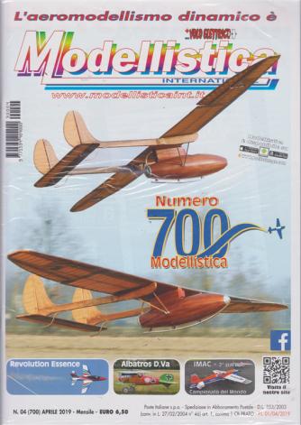 L'aeromodellismo dinamico è Modellistica international - n. 4 - aprile 2019 - mensile