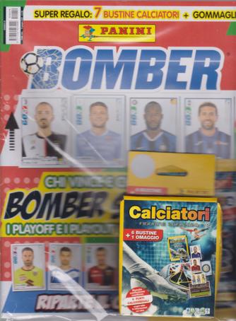 Bomber - Speciale Ripresa del campionato! - n. 29 - bimestrale - 19 giugno 2020 - + super regalo: 7 bustine calciatori + gommaglia -