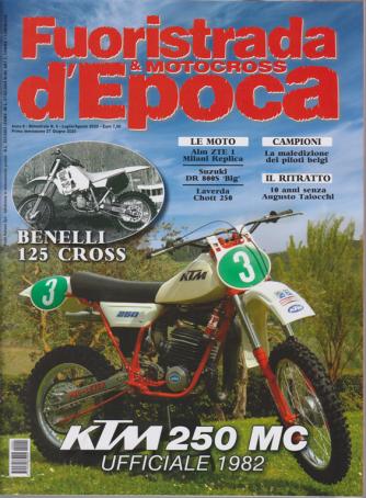 Fuoristrada & Motocross d'Epoca - n. 4 - bimestrale - luglio - agosto 2020