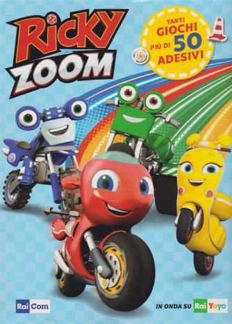 Gli Activity Book Di Rai Com - Riky Zoom Giocastick - n. 1 - 23/6/2020 - trimestrale -