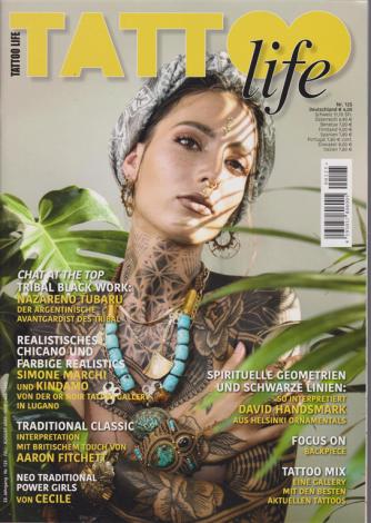 Tattoo Life -Tedesco - n. 125 - juli - august 2020 -