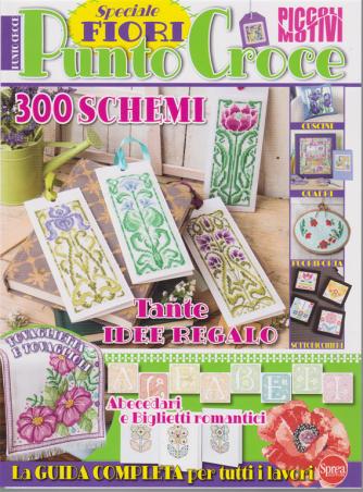 Piccoli Motivi a punto croce - n. 3 - Speciale fiori - bimestrale - giugno - luglio 2020 -