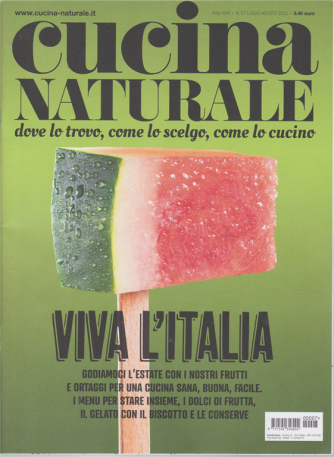 Cucina Naturale - n. 7 - luglio - agosto 2020 - mensile -