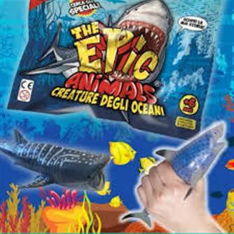 Bustina THE EPIC ANIMALS CREATURE DEGLI OCEANI