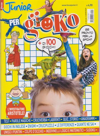 Focus Junior X Gioco - n. 1 - 26/6/2020 - + di 100 giochi!