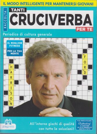 Raccolta Tanti cruciverba per te - n. 9 - Harrison Ford - bimestrale - 26/6/2020 -