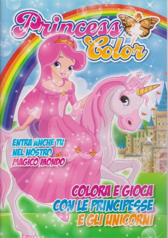 Princess Color - n. 3 - bimestrale - giugno - luglio 2020 -