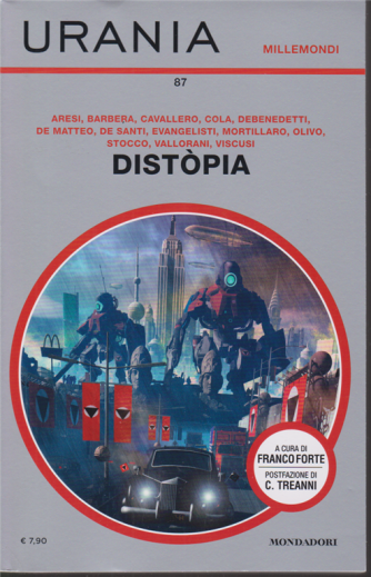 Urania - Millemondi estate - Distopia - n. 87 - quadrimestrale - luglio 2020 -