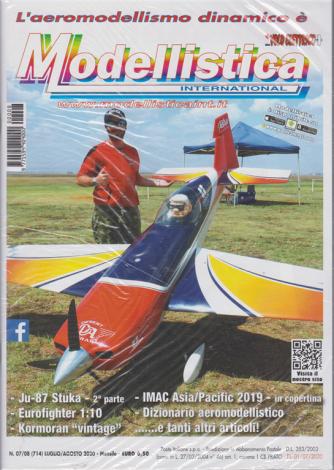 Modellistica International - n. 8 - luglio - agosto 2020 - mensile