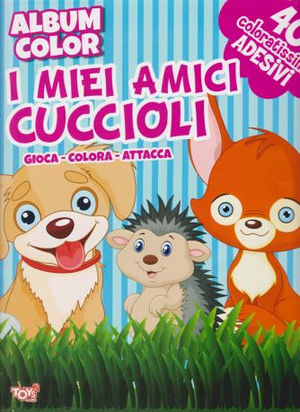 Toys2 Gioca e colora - Album color I miei amici cuccioli - n. 39 - bimestrale - 25 giugno 2020