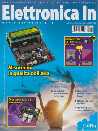 Elettronica In - n. 246 - luglio - agosto 2020 - mensile