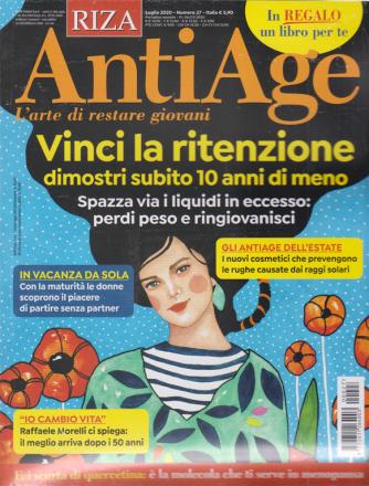 Riza Antiage - + In regalo il libro Cosmesi naturale anti-age - n. 27 - luglio 2020 - mensile - rivista + libro