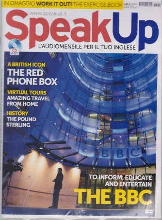 Speak Up - n. 424 - luglio 2020 - rivista + cd audio