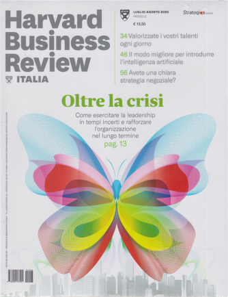 Harward Business Review - n. 8 - luglio - agosto 2020 - mensile - 2 riviste