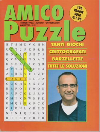 Amico Puzzle - n. 91 - trimestrale - agosto - ottobre 2020 - 196 pagine