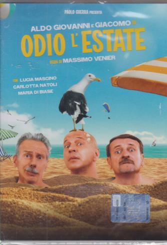 I Dvd Cinema di Sorrisi - n. 27 - Odio L'estate - 9 luglio 2020 - settimanale - con Aldo Giovanni e Giacomo