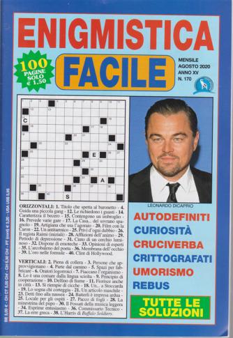 Enigmistica Facile - n. 170 - mensile - agosto 2020 - 100 pagine