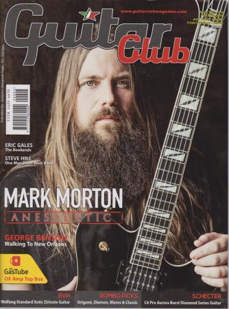 Guitar Club - Mark Morton - aprile 2019 - n. 4 - mensile