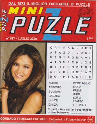 Minipuzzle - n. 537 - luglio 2020 - mensile
