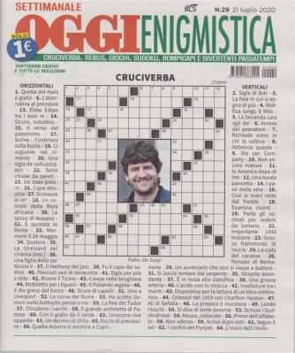 Settimanale Oggi Enigmistica - n. 29 - 21 luglio 2020 -