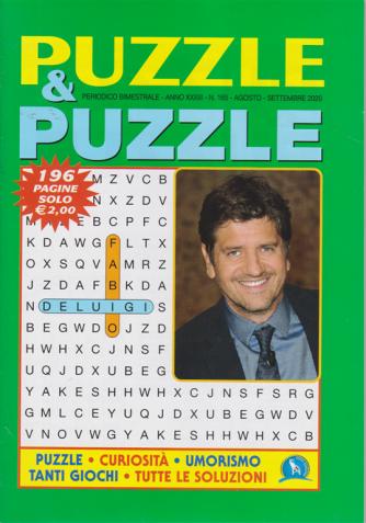 Puzzle & Puzzle - n. 165 - bimestrale - agosto - settembre 2020 - 196 pagine