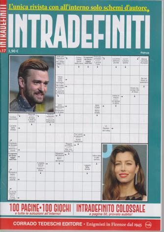 Interdefiniti - n. 17 - bimestrale - agosto - settembre 2020 - 100 pagine - 100 giochi