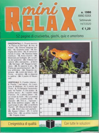 Mini Relax - n. 1990 - settimanale - 14/7/2020 -
