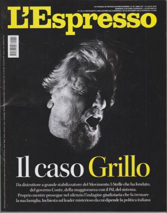 L'espresso - Il Caso Grillo - n. 29 - settimanale - 12 luglio 2020