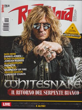 Rockhard Italia - n. 56 - 5 aprile 2019 - mensile