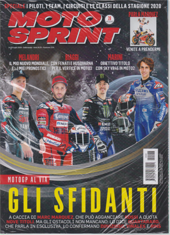 Motosprint - n. 28 - 14/20 luglio 2020 - settimanale - 2 riviste