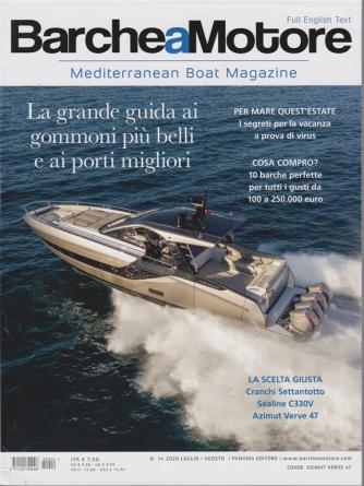 Barche a Motore - n. 14 - luglio - agosto 2020 - italiano inglese