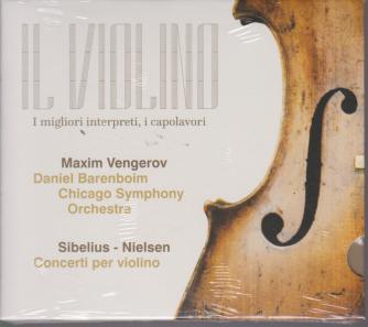 Il Violino  -Maxim Vengerov - Sibelius - Nielsen - cd n. 3 -