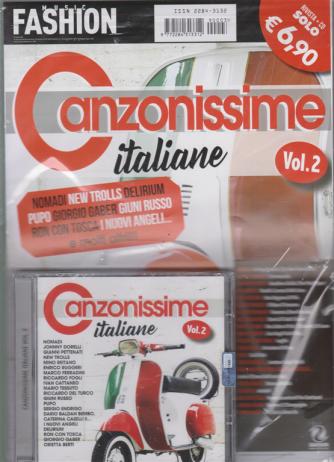 Music Fashion Var.31 - Canzonissime italiane n. 2 - rivista + cd - aprile 2019
