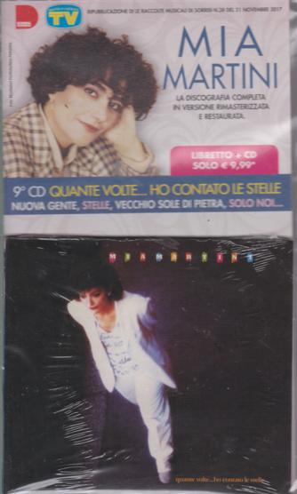 Le raccolte musicali di Sorrisi n. 38 - Mia Martini - 9° cd - Quante volte....ho contato le stelle - libretto + cd - 9/4/2019 - settimanale