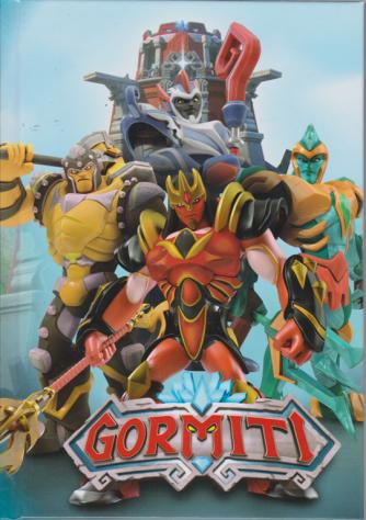 Diario Gormiti - copertina rigida - con segnalibro