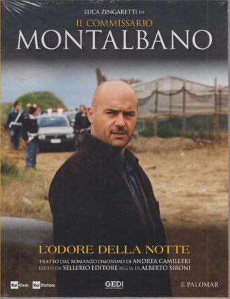 Luca Zingaretti in Il commissario Montalbano - L'odore della notte - n. 15 - 21/7/2020 - settimanale