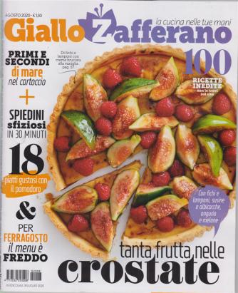 Giallo Zafferano - n. 8 - agosto 2020 - mensile - 100 ricette inedite