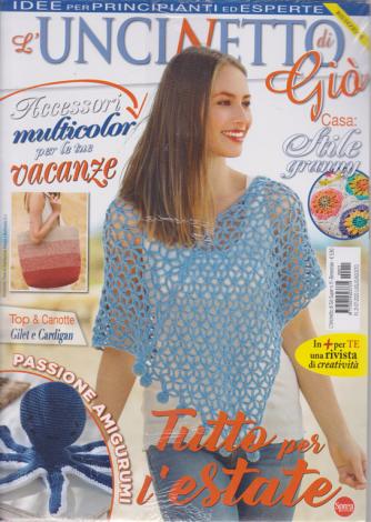 L'uncinetto di Gio' - n. 11 - bimestrale - luglio - agosto 2020 + Accessori maglia - 2 riviste