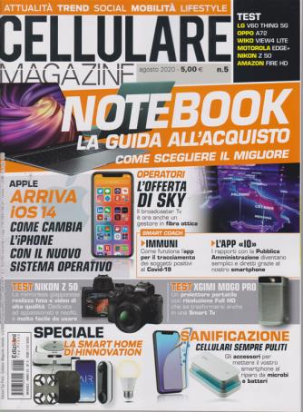 Cellulare Magazine - n. 5 - agosto 2020 - mensile