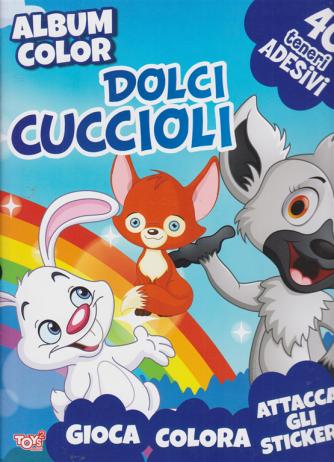 Toys2 Colorando - Album color Dolci cuccioli - n. 50 - bimestrale - 23 luglio 2020 -