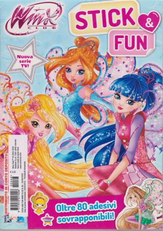 Winx Club Stick Fun - n. 66 - 25/6/2020 - bimestrale -