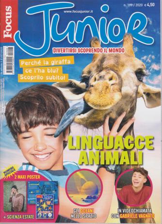 Focus Junior - n. 199- 21/7/2020 - mensile